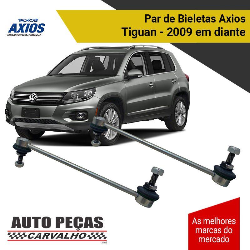 Par de Bieletas (AXIOS) - Volkswagen Tiguan - 2009 2010 2011 2012 2013 2014 2015 2016 2017 2018 2019 2020