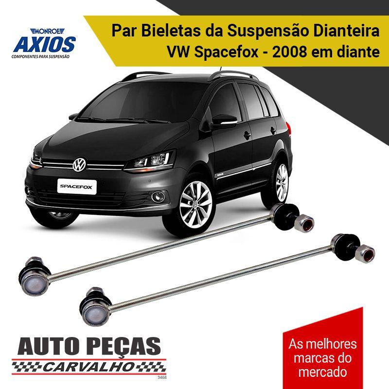 Par de Bieletas da Suspensão Dianteira (AXIOS) - Audi A1 / Crossfox / Fox / Gol / Novo Polo / Polo / Saveiro / Space Cross / Space Fox / Up / Virtus
