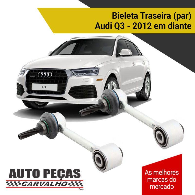 Par de Bieletas da Suspensão Traseira - Audi Q3 - 2012 2013 2014 2015 2016 2017 2018 2019 2020
