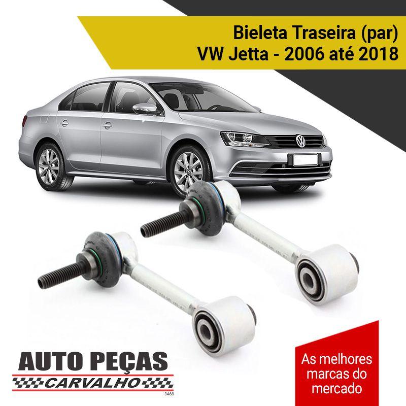 Par de Bieletas da Suspensão Traseira - Volkswagen Jetta - 2006 2007 2008 2009 2010 2011 2012 2013 2014 2015 2016 2017 2018