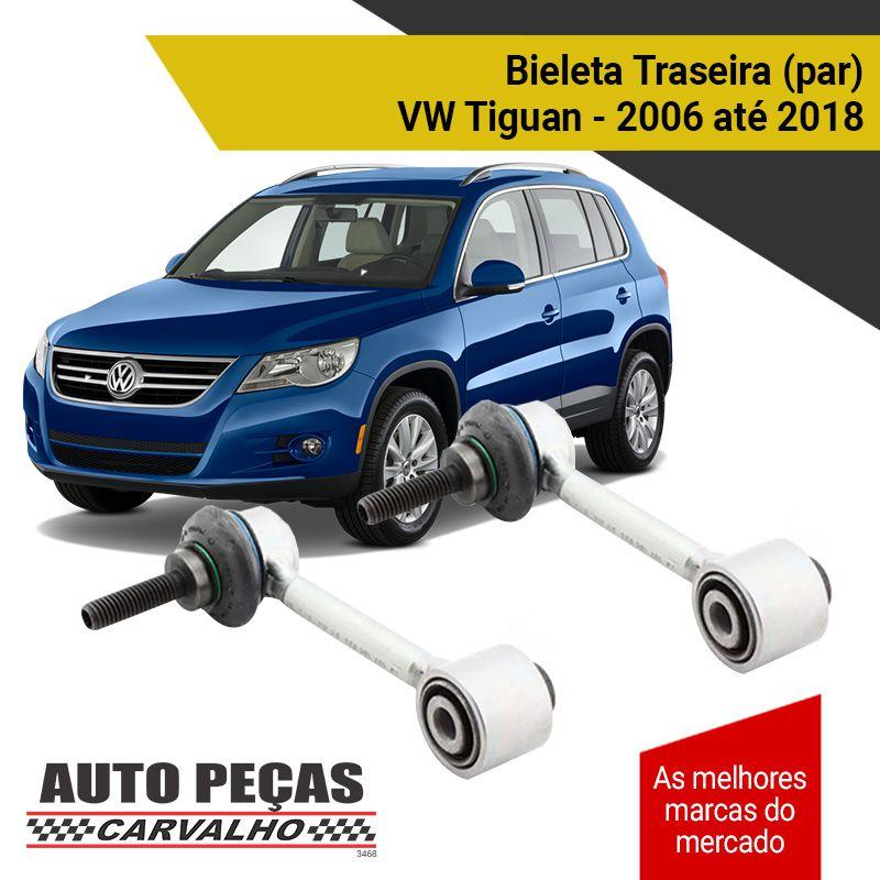 Par de Bieletas da Suspensão Traseira - Volkswagen Tiguan - 2006 2007 2008 2009 2010 2011 2012 2013 2014 2015 2016 2017 2018