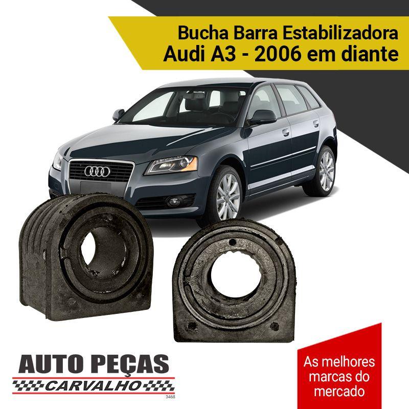 Par de Buchas da Barra Estabilizadora - Audi A3 - 2006 2007 2008 2009 2010 2011 2012 2013 2014 2015 2016 2017 2018 2019