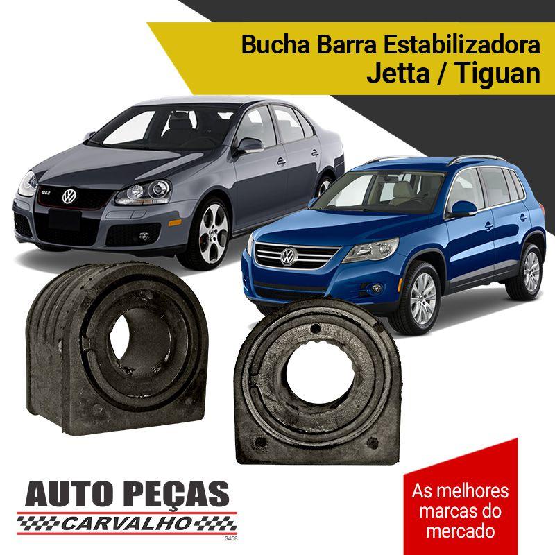 Par de Buchas da Barra Estabilizadora - Jetta / Tiguan - 2005 2006 2007 2008 2009 2010 2011 2012 2013 2014 2015 2016 2017 2018 2019