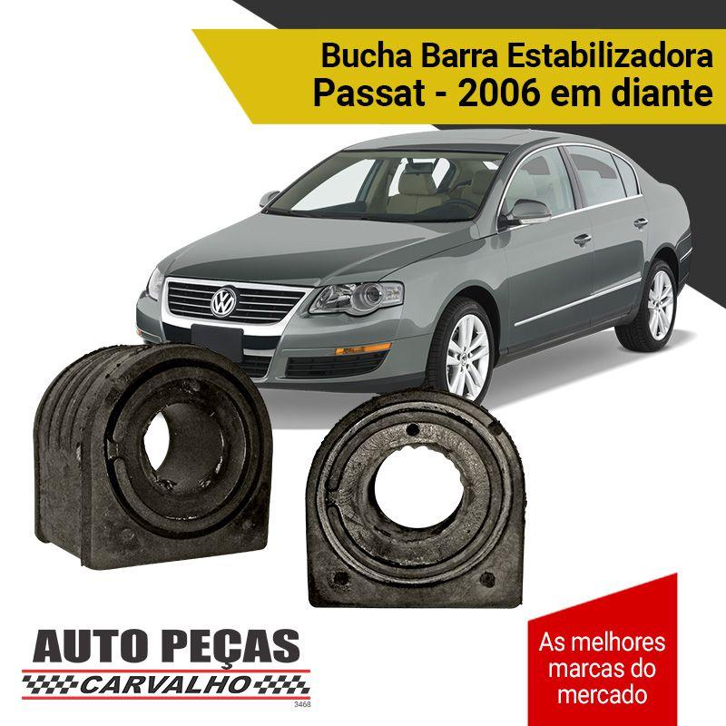 Par de Buchas da Barra Estabilizadora - Passat - 2006 2007 2008 2009 2010 2011 2012 2013 2014 2015 2016 2017 2018 2019