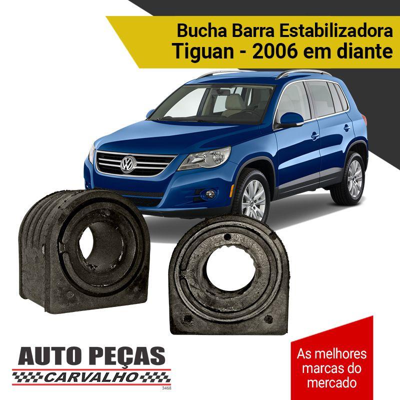 Par de Buchas da Barra Estabilizadora - Tiguan - 2006 2007 2008 2009 2010 2011 2012 2013 2014 2015 2016 2017 2018 2019