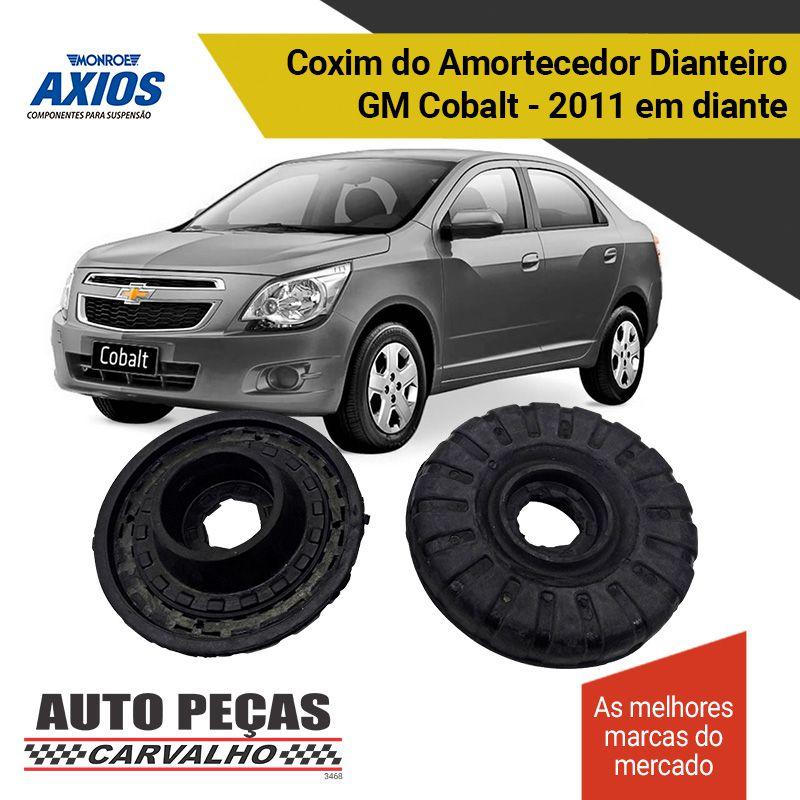 Par de Coxim do Amortecedor Dianteiro (AXIOS) - Chevrolet Cobalt / Onix / Prisma / Spin / Sonic