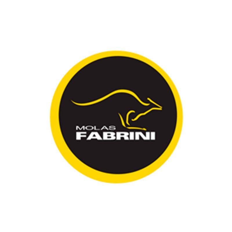 Par de Molas de Suspensão Traseira (FABRINI) - Fiat Palio 1.0 / 1.3 / 1.4 / 1.5 - 2001 em diante