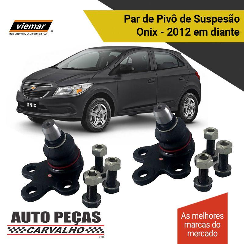 Par de Pivô de Suspensão (VIEMAR) - Chevrolet Onix - 2012 2013 2014 2015 2016 2017 2018 2019