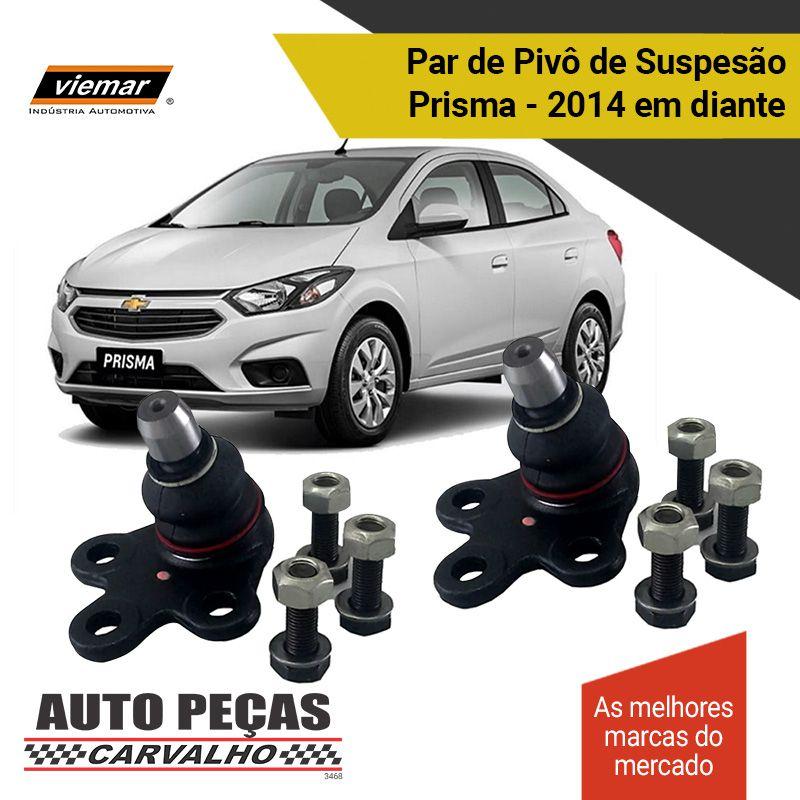 Par de Pivô de Suspensão (VIEMAR) - Chevrolet Prisma - 2014 2015 2016 2017 2018 2019