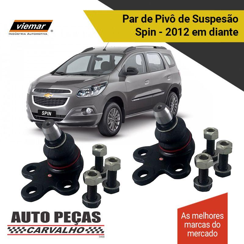 Par de Pivô de Suspensão (VIEMAR) - Chevrolet Spin - 2012 2013 2014 2015 2016 2017 2018 2019