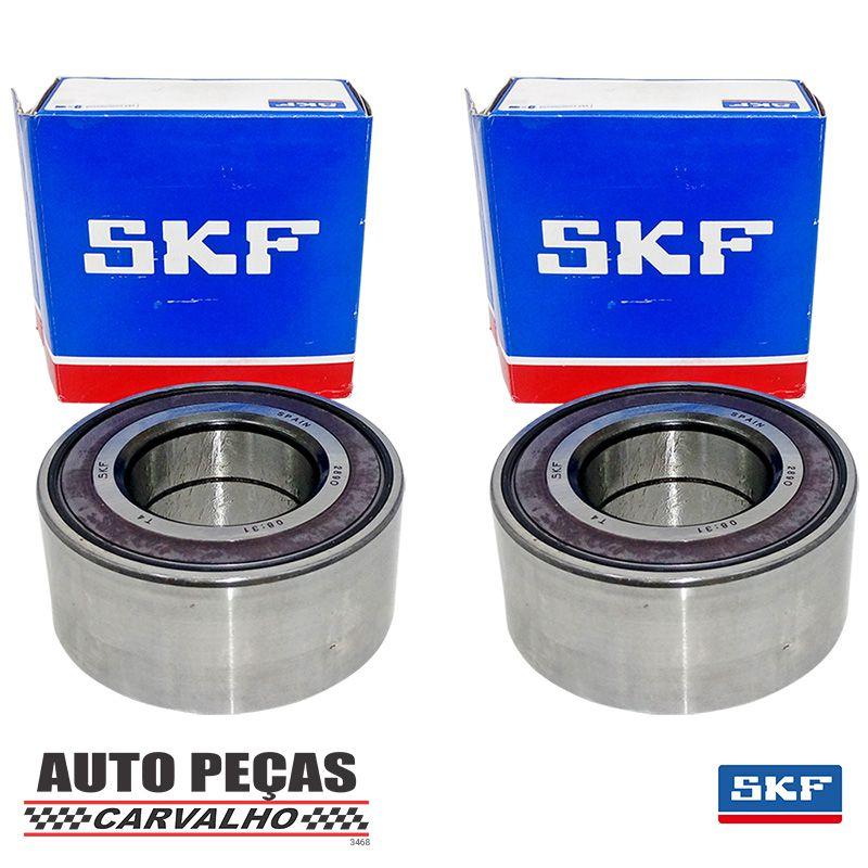 Par de Rolamento Roda Dianteira (SKF) sem ABS - Ford Courier / Ecosport / Escort / Fiesta / Focus / KA / Verona