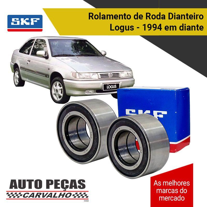 Par de Rolamento Roda Dianteira (SKF) sem ABS - Volkswagen Crossfox / Fox / Spacefox / Parati / Gol G5 / Saveiro / Voyage / Logus / Pointer / Santana / Santana Quantum