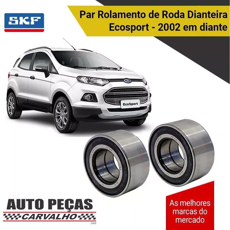 Par Rolamentos Roda Dianteira (SKF) - Ford Ecosport - 2002 2003 2004 2005 2006 2007 2008 2009 2010 2011 2012 2013 2014 2015 2016 2017 2018 2019