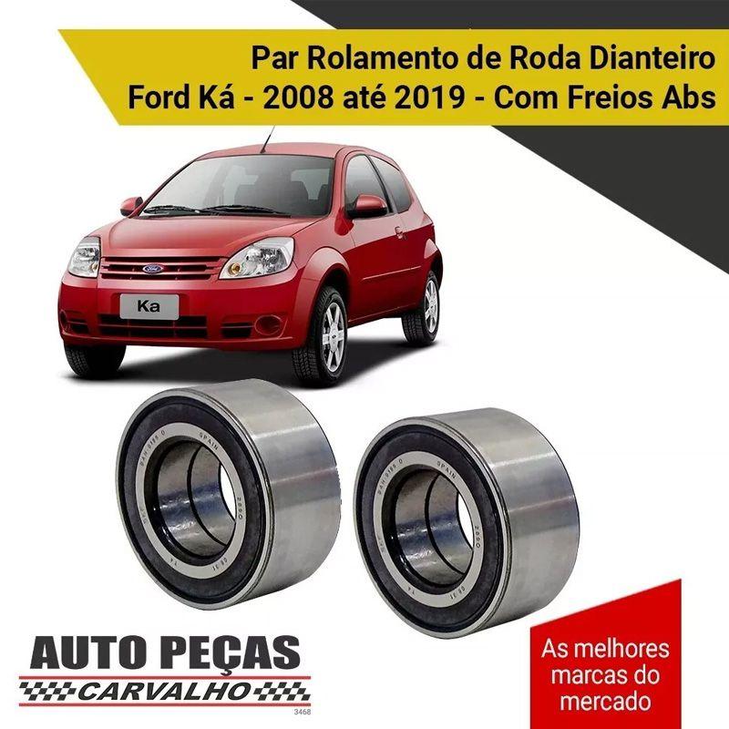 Par Rolamentos Roda Dianteira (SKF) - Ford KA - 2008 2009 2010 2011 2012 2013 2014 2015 2016 2017 2018 2019