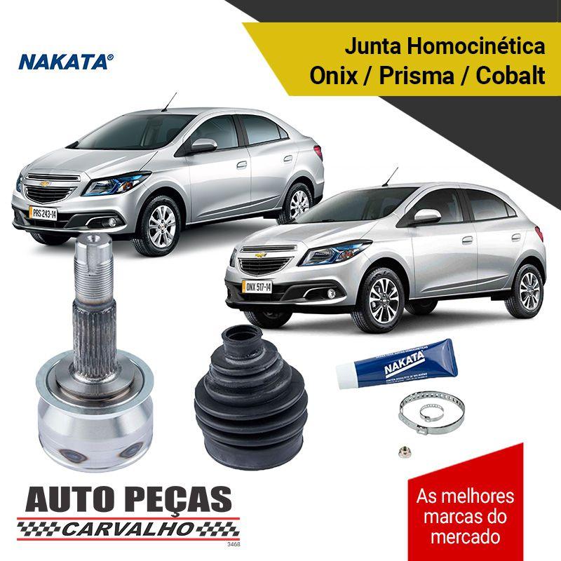 Ponteira e Junta Homocinética (NAKATA) - Cobalt / Prisma / Onix - 2012 até 2016