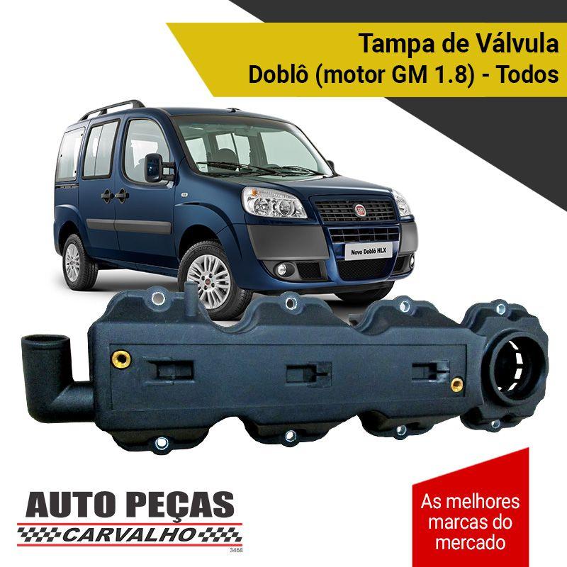 Tampa de Válvulas - Fiat Doblô com Motor GM 1.8 - Todos