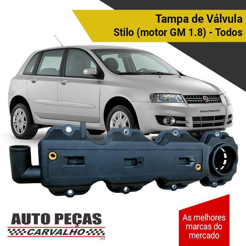 Tampa de Válvulas - Fiat Stilo com Motor GM 1.8 - Todos