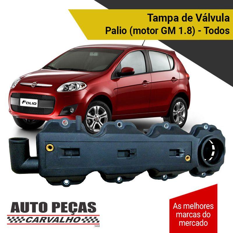 Tampa de Válvulas - Fiat Palio com Motor GM 1.8 - Todos