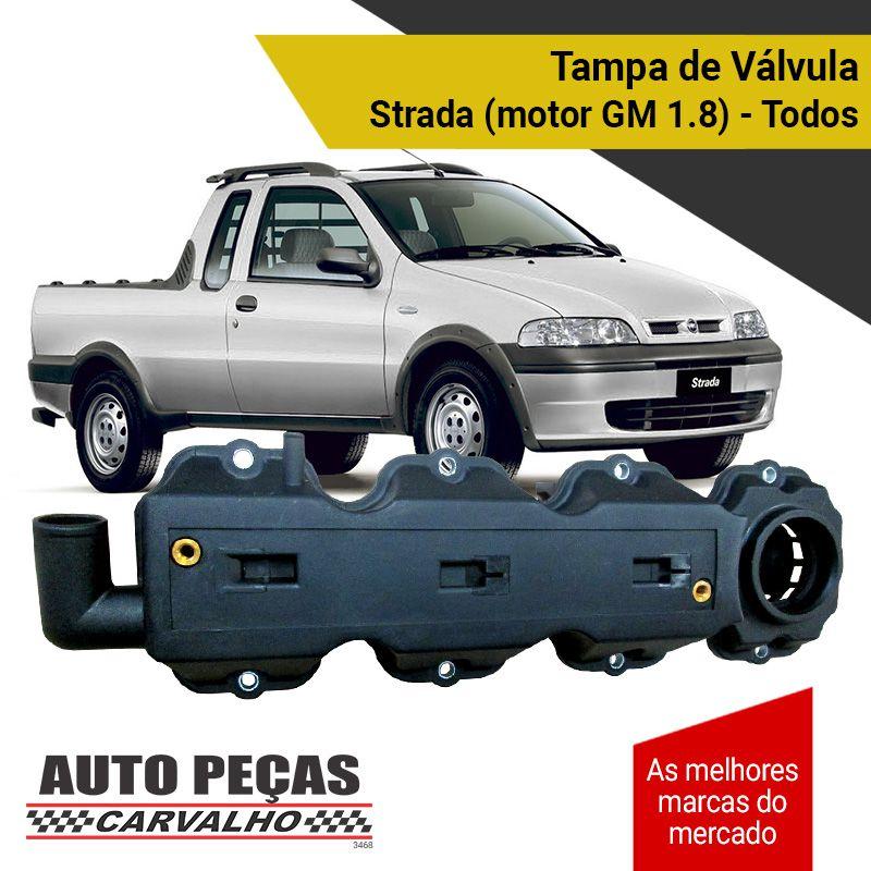 Tampa de Válvulas - Fiat Strada com Motor GM 1.8 - Todos