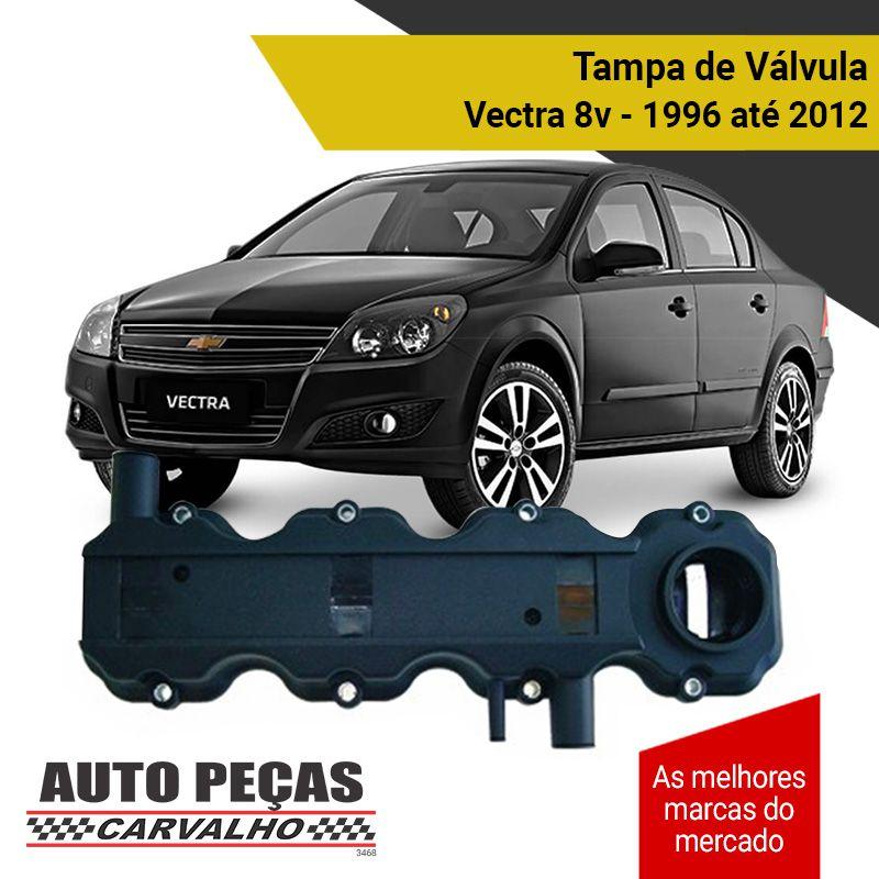 Tampa Válvulas (8 Válvulas) - Chevrolet Vectra - 1996 1997 1998 1999 2000 2001 2002 2003 2004 2005 2006 2007 2008 2009 2010 2011 2012 (todos os modelos)