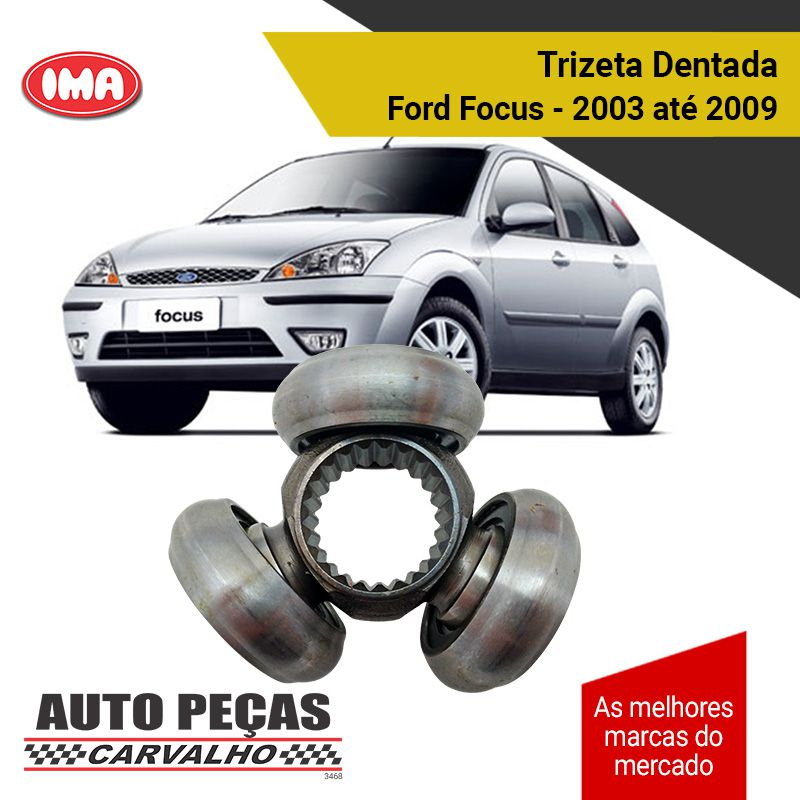 Trizeta (Junta Tripoide) - Cruze 2012 em diante / Focus 2003 até 2009 / Civic & Fit 2007 em diante