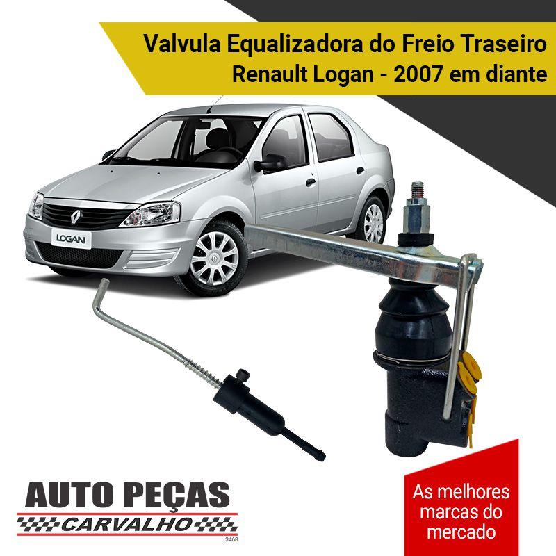 Valvula Equalizadora do Freio Traseiro - Renault Logan - 2007 2008 2009 2010 2011 2012 2013 2014 2015 2016 2017 2018 2019