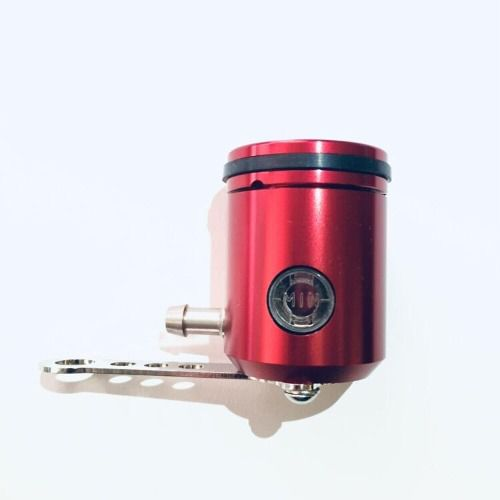 Reservatório  de Fluído de Freio com visor Saída pela esquerda Vermelho
