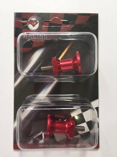 Slider Spool De Balança Pequeno Honda Suzuki Bmw Vermelho