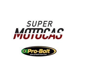 Manete Esportivo Moto Yamaha R1/R6 Preto/Dourado
