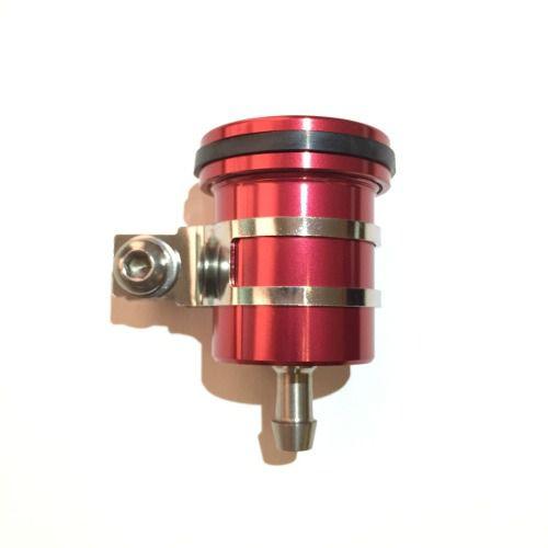 Reservatório de Fluído de Freio sem Visor Saída Por Baixo Vermelho