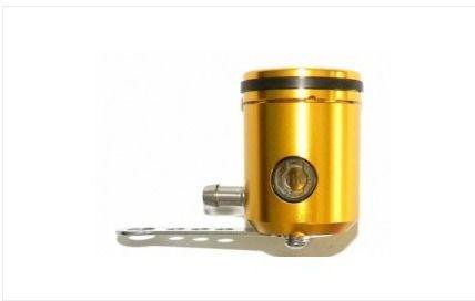 Reservatório de Fluído de Freio com visor Saída pela esquerda Dourado