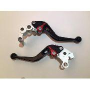 Manete Esportivo Moto Honda Cbr1000rr Cbr600rr 04-07 Preto/Vermelho