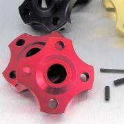 Ajuste da suspensão Dianteira 14mm Honda CBR600RR 07/12 Vermelho