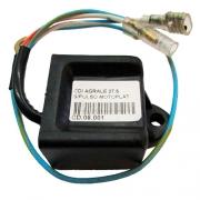 Central da Ignição CDI Agrale 27.5 / 30.0 sistema motoplat (eliminador de pulsador) + bobina de pulso
