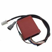 Central da Ignição CDI Modelo Racing Yamaha XT / TDM 225 Alimentação 12v Bateria c/ corte de giros 11200 Rpm