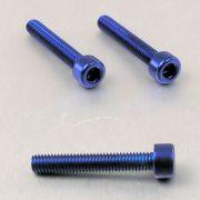 Parafuso Allen de Aluminio Socket Cap M5 x 30mm Unidade Azul