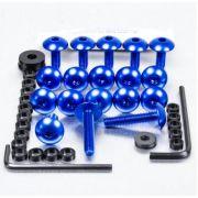Parafusos da carenagem Suzuki GSXR600-750 K6-K10 (07/13) Azul
