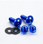 Parafusos de Placa ProBolt Alumínio 2 Unidades Azul