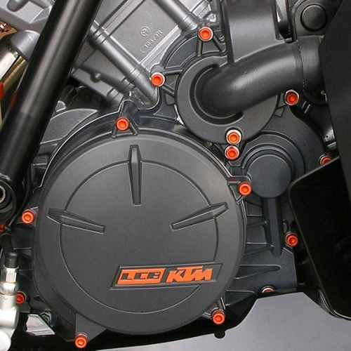 Parafusos da tampa do motor Kawasaki Ninja 250R 08+ Laranja