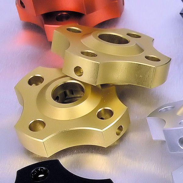 Ajuste da suspensão Dianteira 14mm Honda CBR600RR 07/12 Dourado