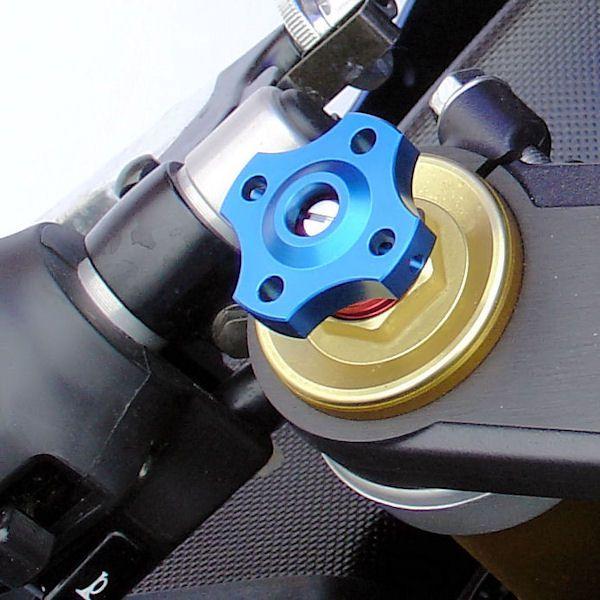 Ajuste da suspensão Dianteira 14mm Yamaha Kawazaki Azul