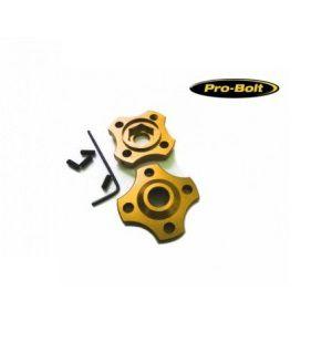 Ajuste da suspensão Dianteira 14mm Yamaha Kawazaki Dourado