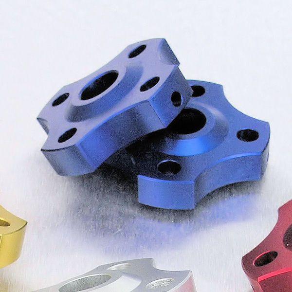 Ajuste da suspensão Dianteira 17mm Aprilia Ducati Kawasaki Azul