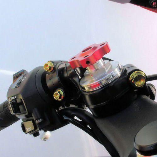 Ajuste da suspensão Dianteira 17mm Aprilia Ducati Kawasaki Vermelho