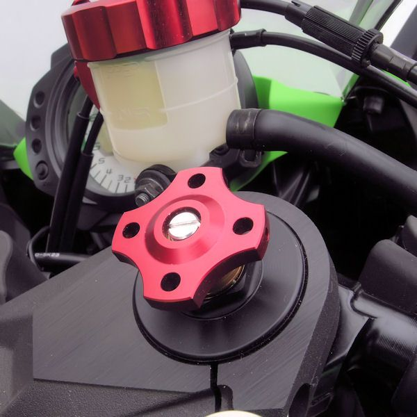 Ajuste da suspensão Dianteira 19mm Honda Kawasaki Suzuki Vermelho