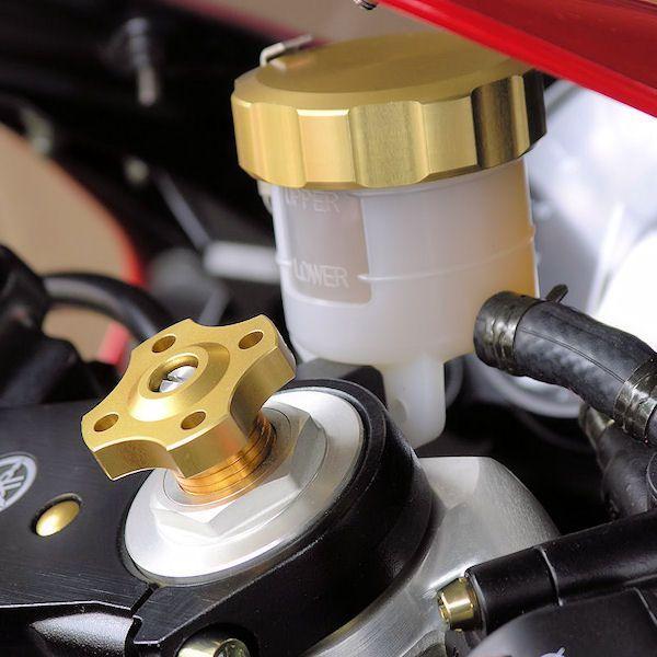 Ajuste da suspensão Dianteira 19mm Honda Kawasaki Suzuki Dourado