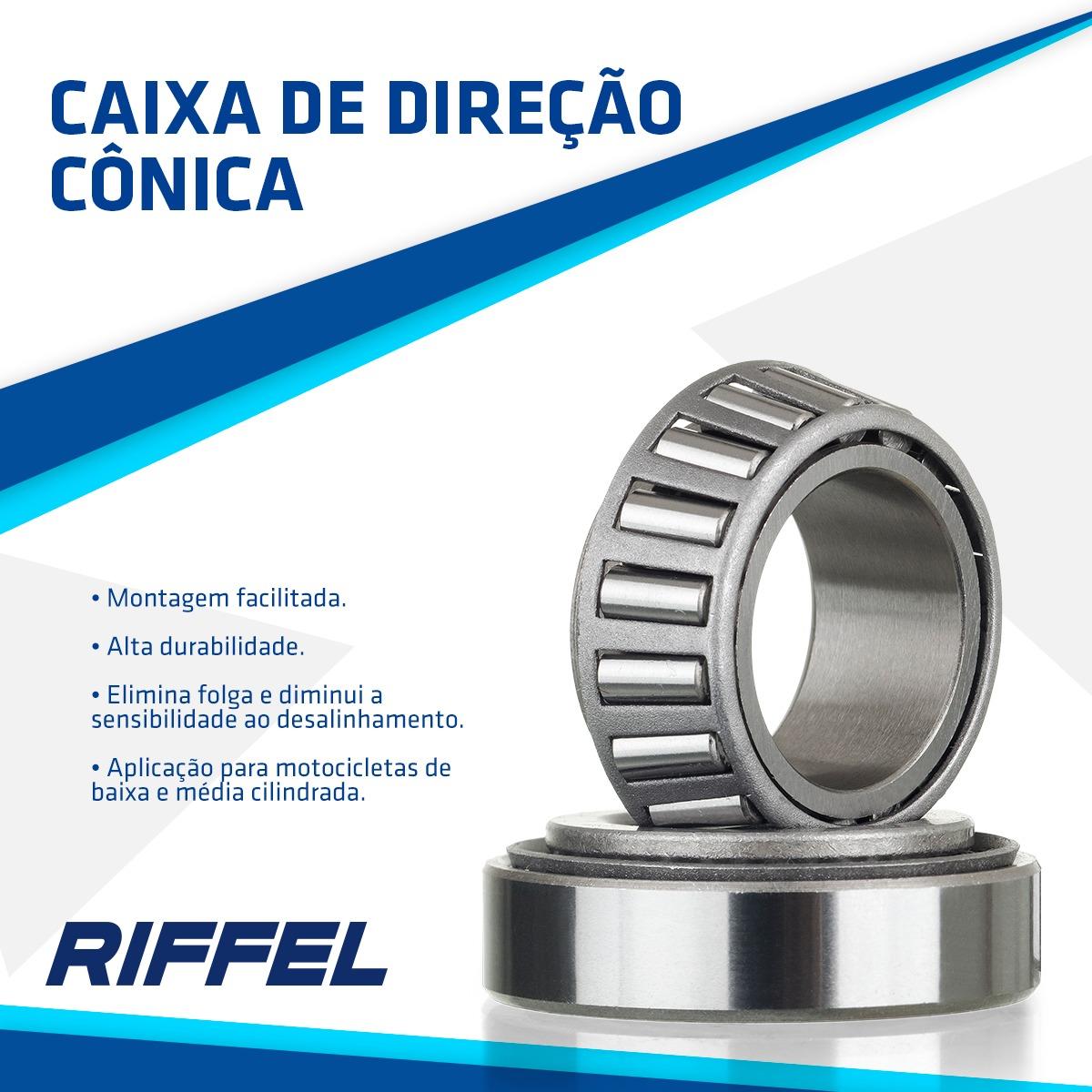 CAIXA DE DIRECAO CONICA CG 125 83-99 / ECO+/SPLENDOR / E-STORM/CBZ160 / AKT 125