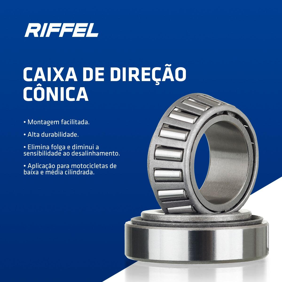 Caixa de Direção Cônica BROS 125-150-160 / XLR 125 / XR 200 / Falcon NX4 / XR 250 / NX 150-200 / XRE 190-300