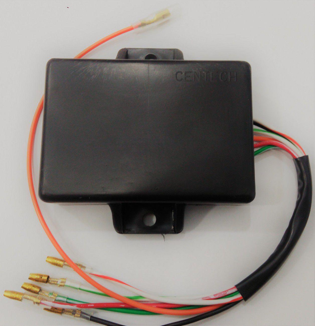 Central da Ignição CDI Modelo Similar Original Agrale 16.5 6 fios sendo 1 cinza