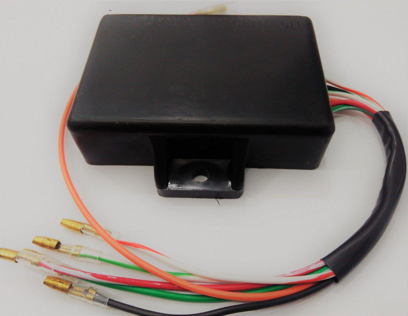 Central da Ignição CDI Modelo Similar Original Yamaha RD 135